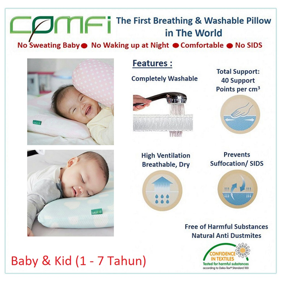 Comfi A Breathing Pillow Baby and Kid