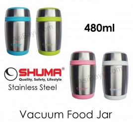 Shuma Stainless Vacuum Food Jar 480ml