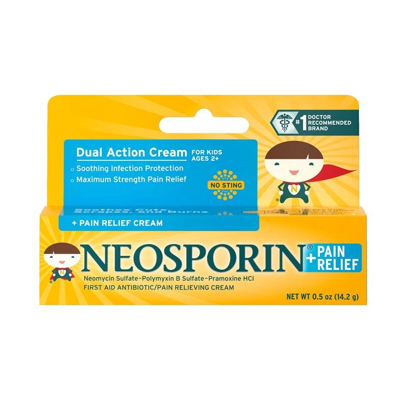 Neosporin for kids Dual Action Cream