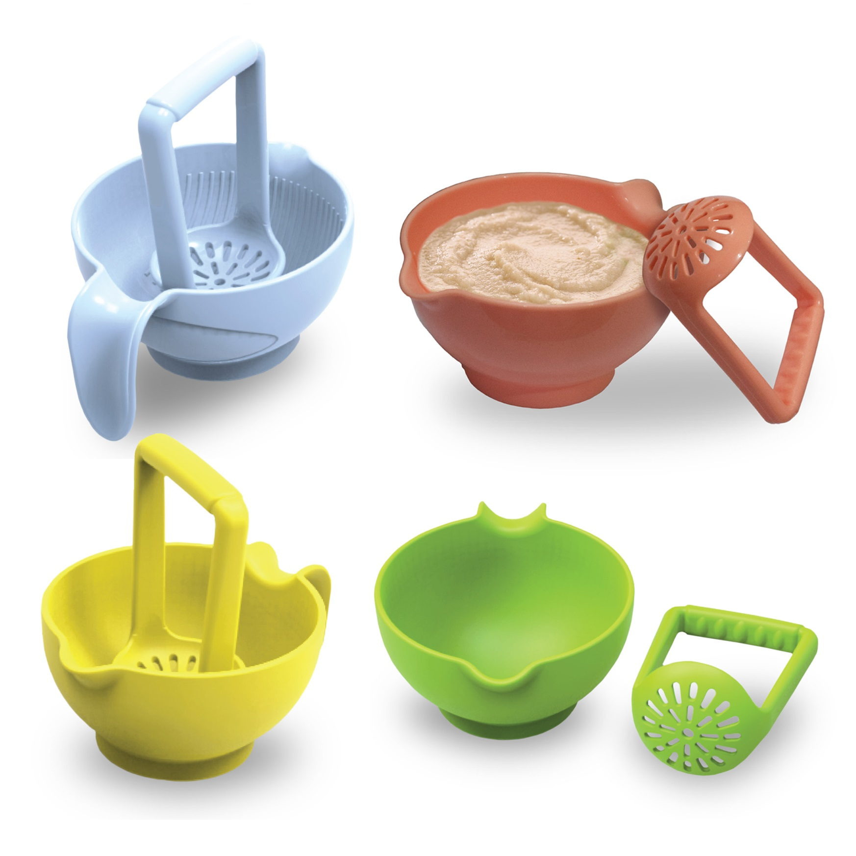 Baby Safe Food Masher Bowl