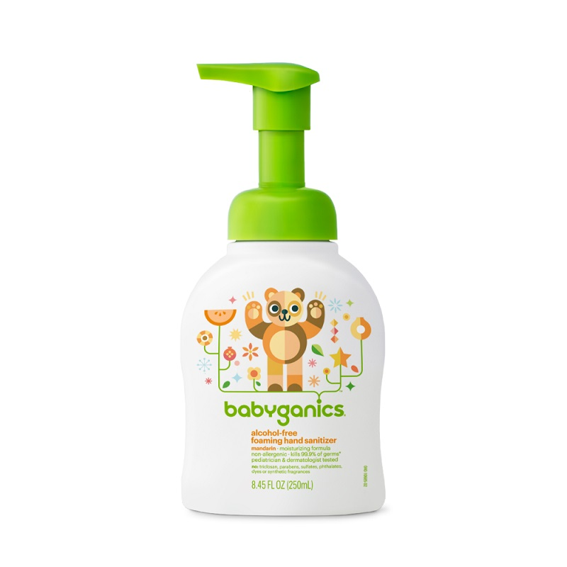 Babyganics Foaming Hand Sanitizer Mandarin 250ml