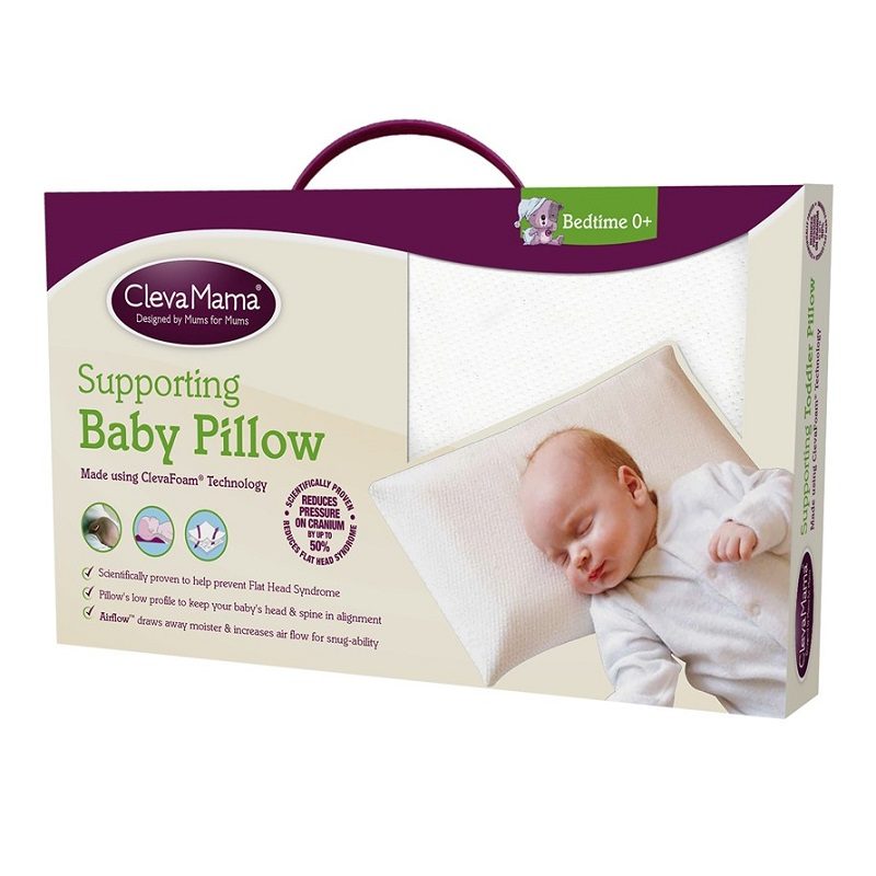 Clevamama Supporting Baby Pillow (1)