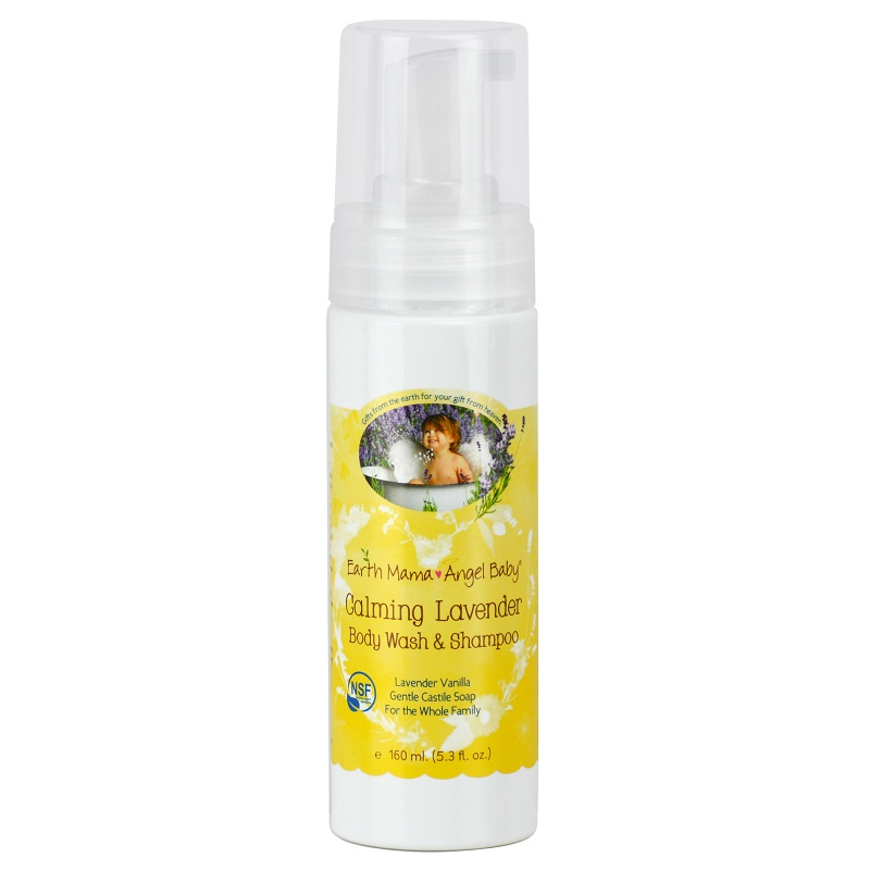Earth Mama Angel Baby Calming Lavender Body Wash & Shampoo