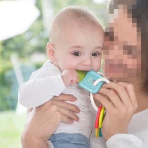 Kidsme Teether Keys in Use