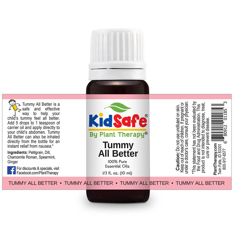 Tummy All Better KidSafe by Plant Therapy