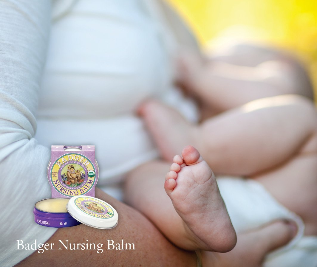 Badger Nursing Balm Organic Sunflower & Coconut (1)