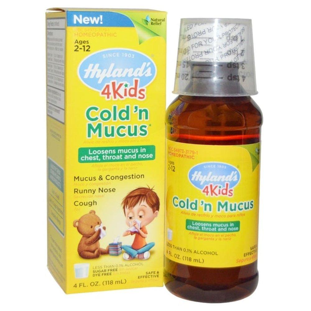 Hyland's 4 Kids Cold n Mucus