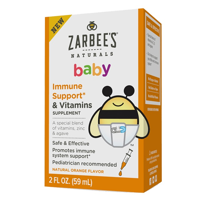 Zarbee's Naturals Baby Immune Support & Vitamins Supplement 2oz