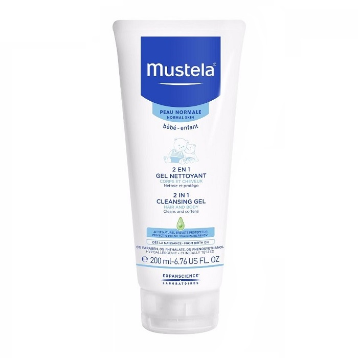 Mustela Bebe 2in1 Cleansing Gel Hair and Body