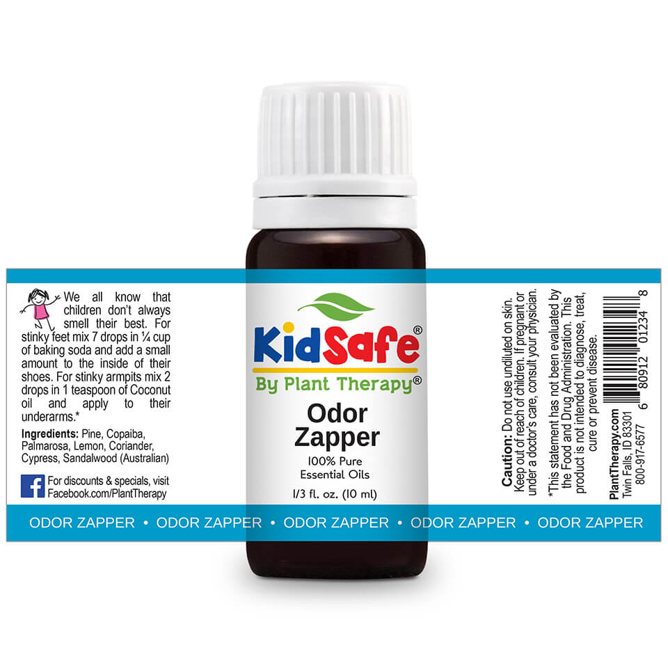 Odor Zapper KidSafe by Plant Therapy