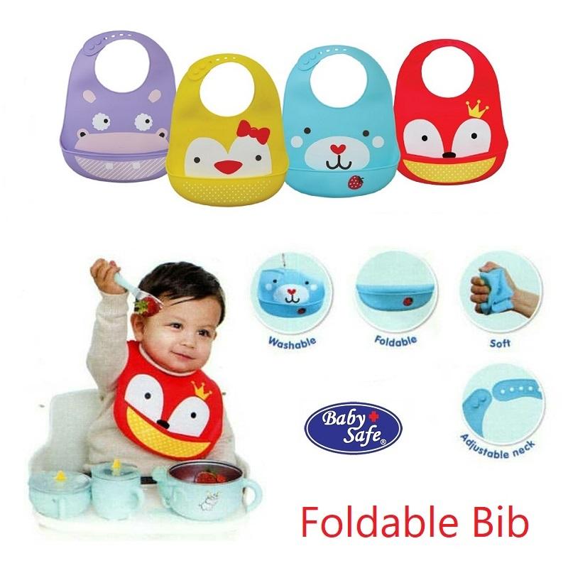 Baby Safe Foldable Bib Karakter