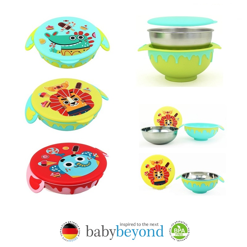Baby Beyond Stainless Steel FunBowl (1)