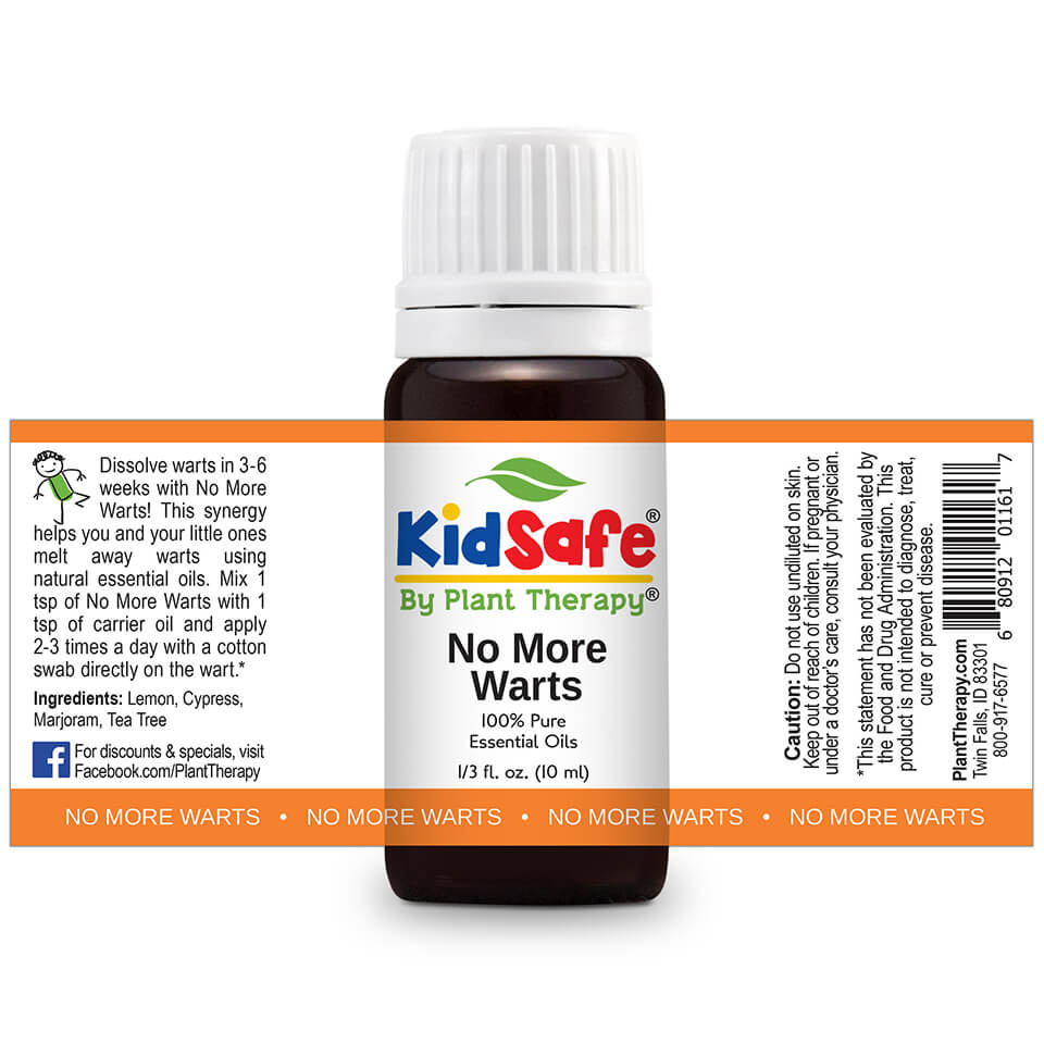 No More Warts KidSafe Plant Therapy