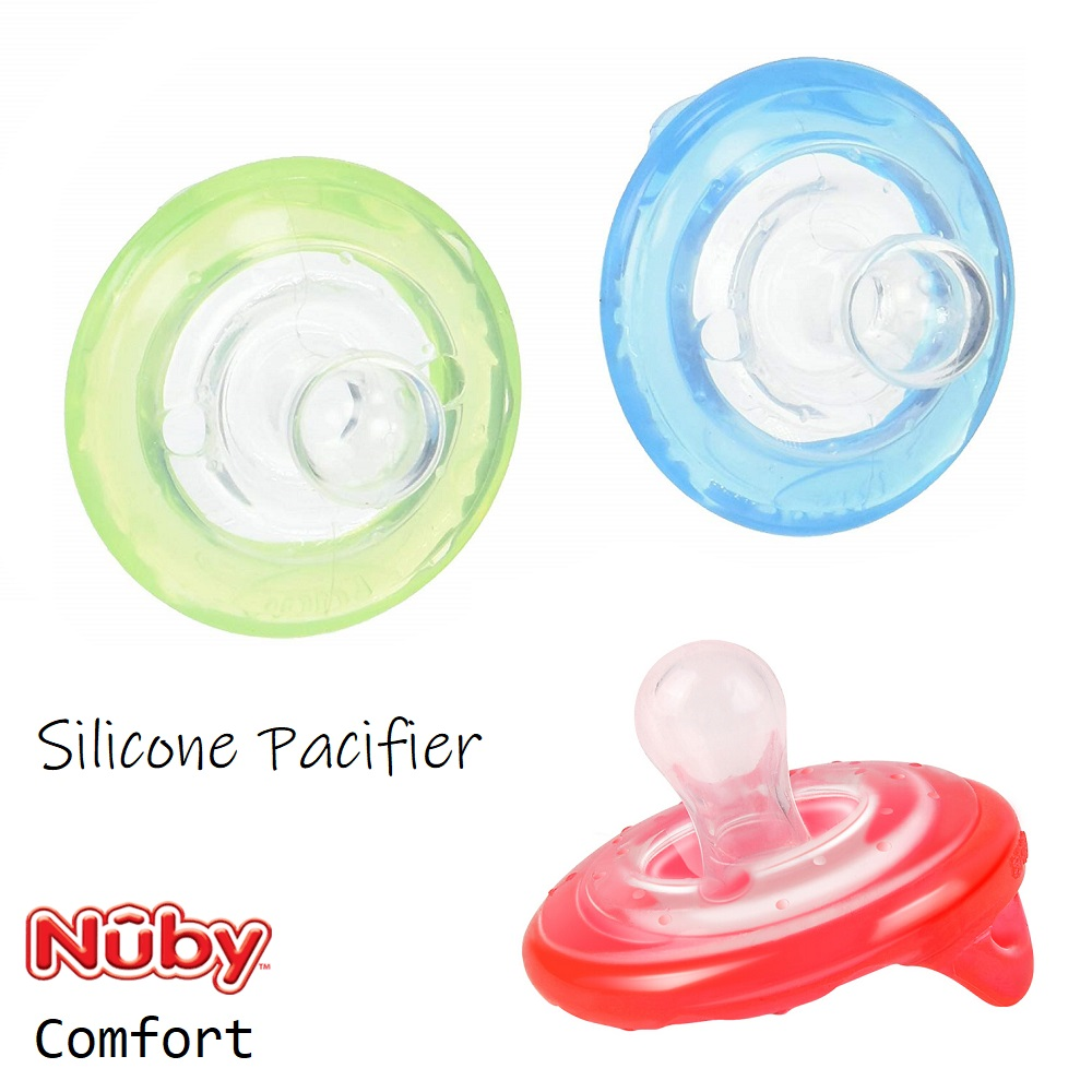Nuby Silicone Pacifier (1)