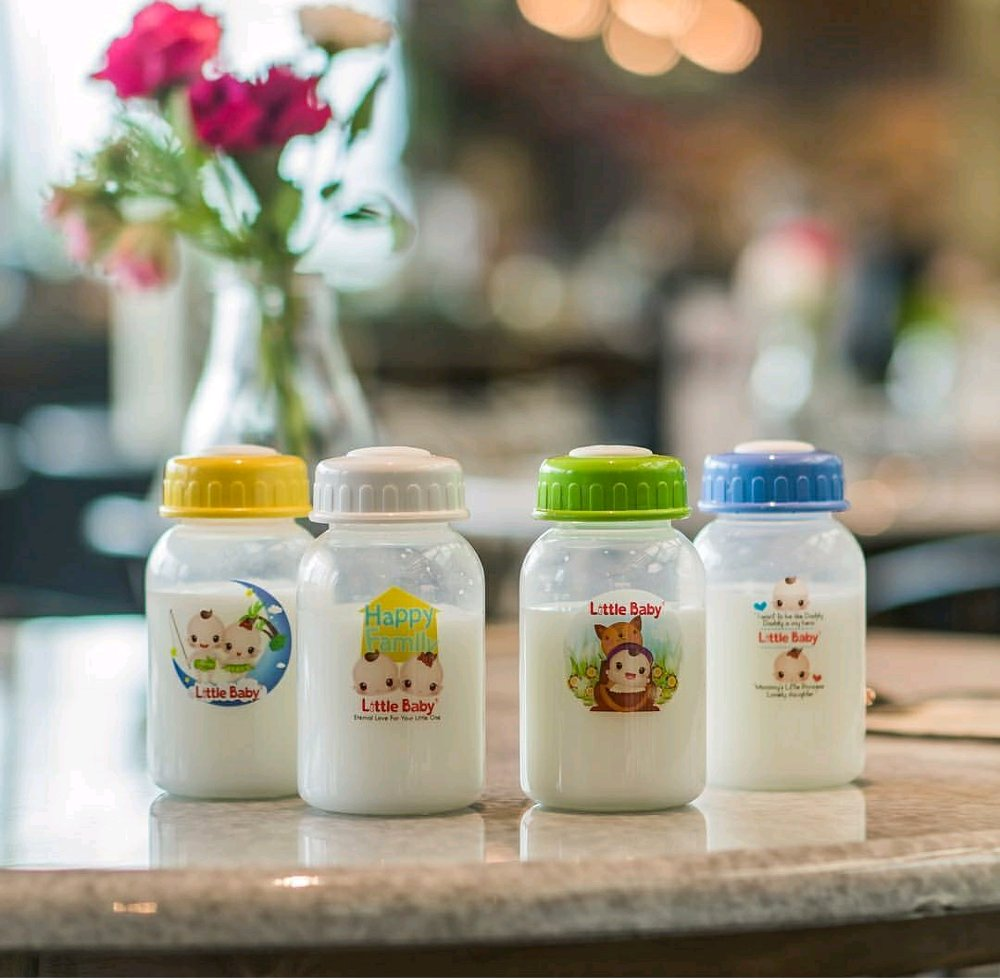Little Baby Botol ASI Plastik 120ml 0216 (1)