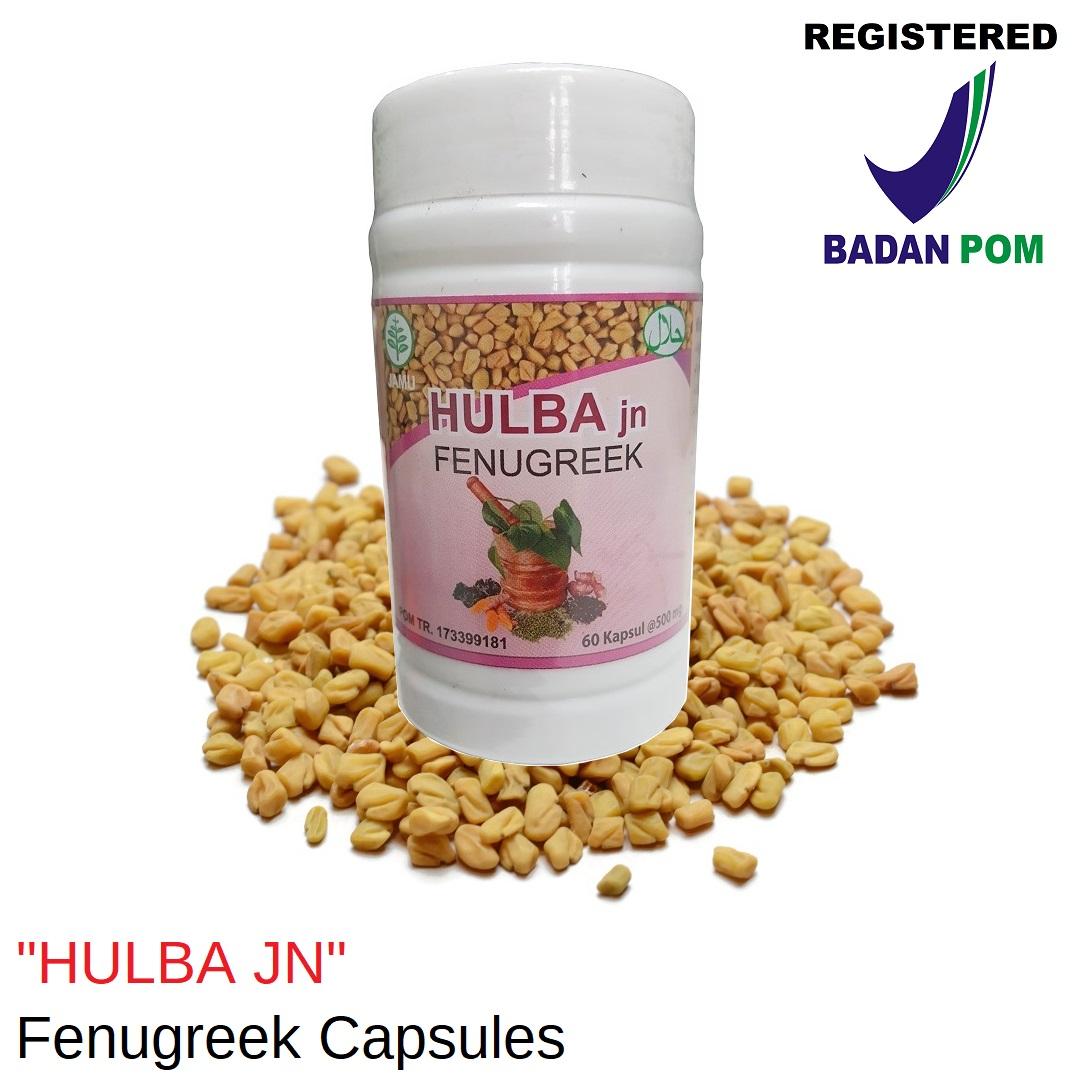 Hulba JN Fenugreek Capsules BPOM