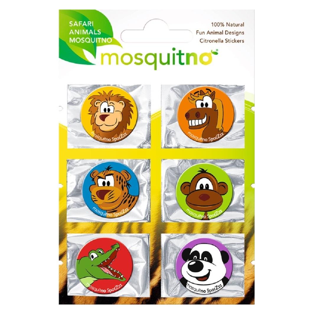 Mosquitno Citronella Stickers Safari Animal (1)