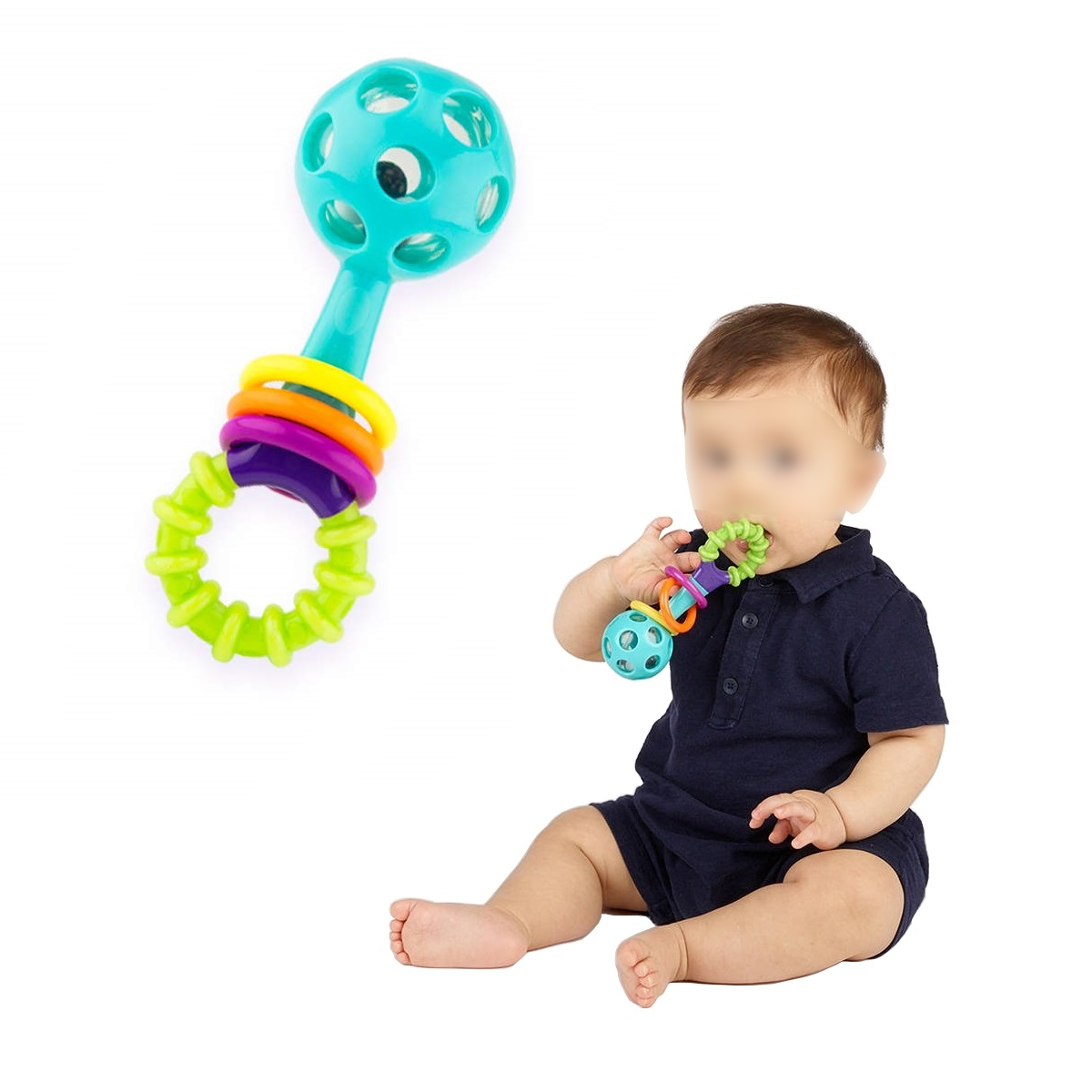 Sassy Peek a Boo Beads Rattle (1)