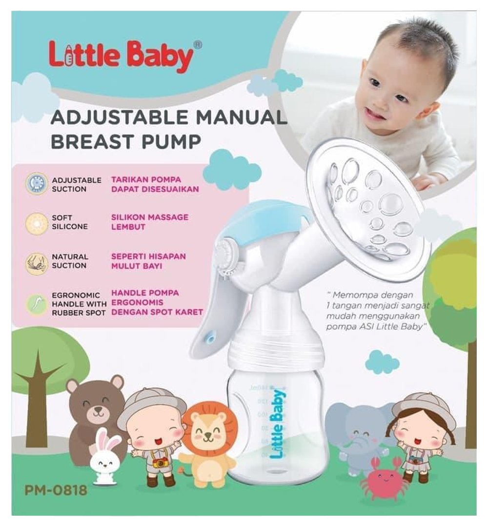 Little Baby Adjustable Manual Breast Pump