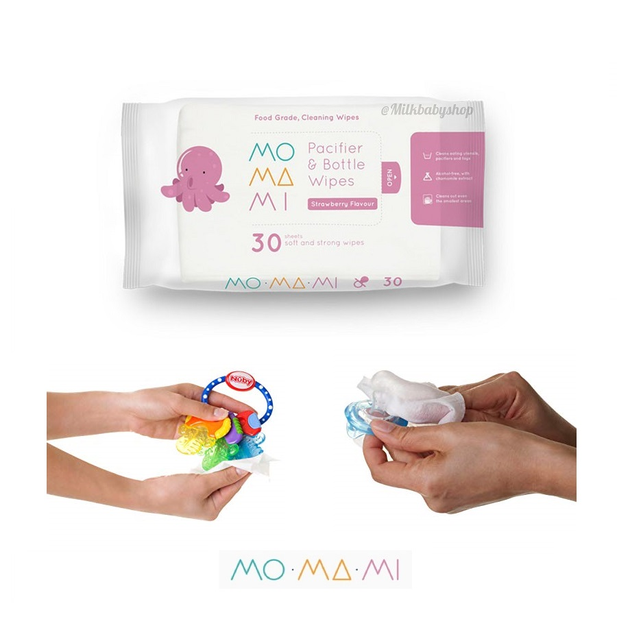 MoMaMi Pacifier Bottle Wipes