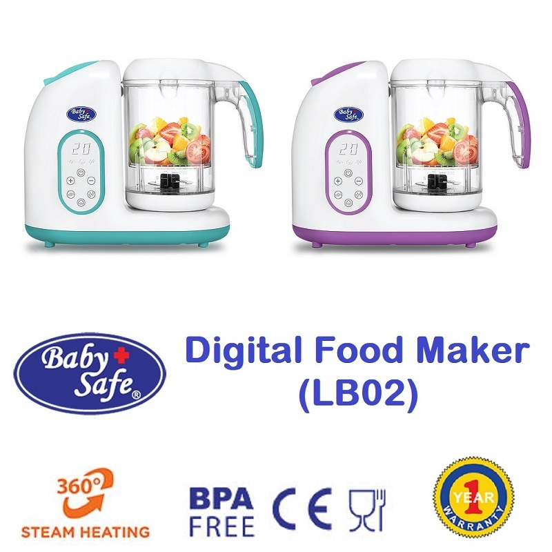 Baby Safe Digital Food Maker LB02