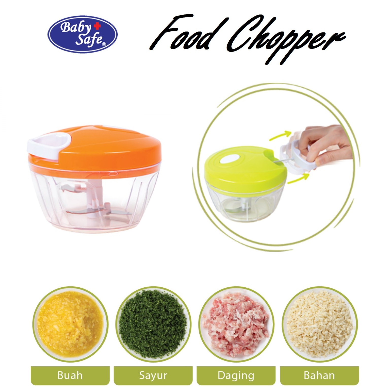 Baby Safe Food Chopper