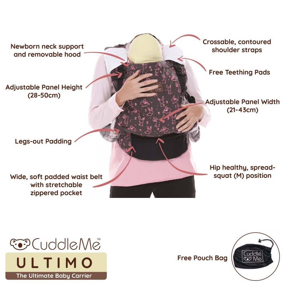 CuddleMe Ultimo Baby Carrier
