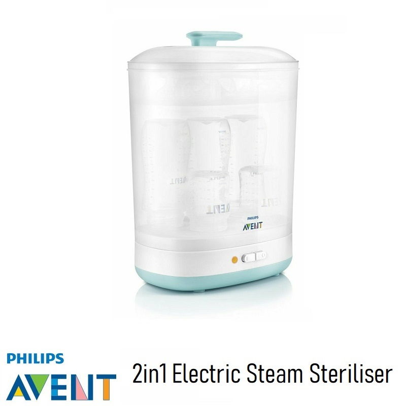 Philips AVENT 2in1 Electric Steam Steriliser
