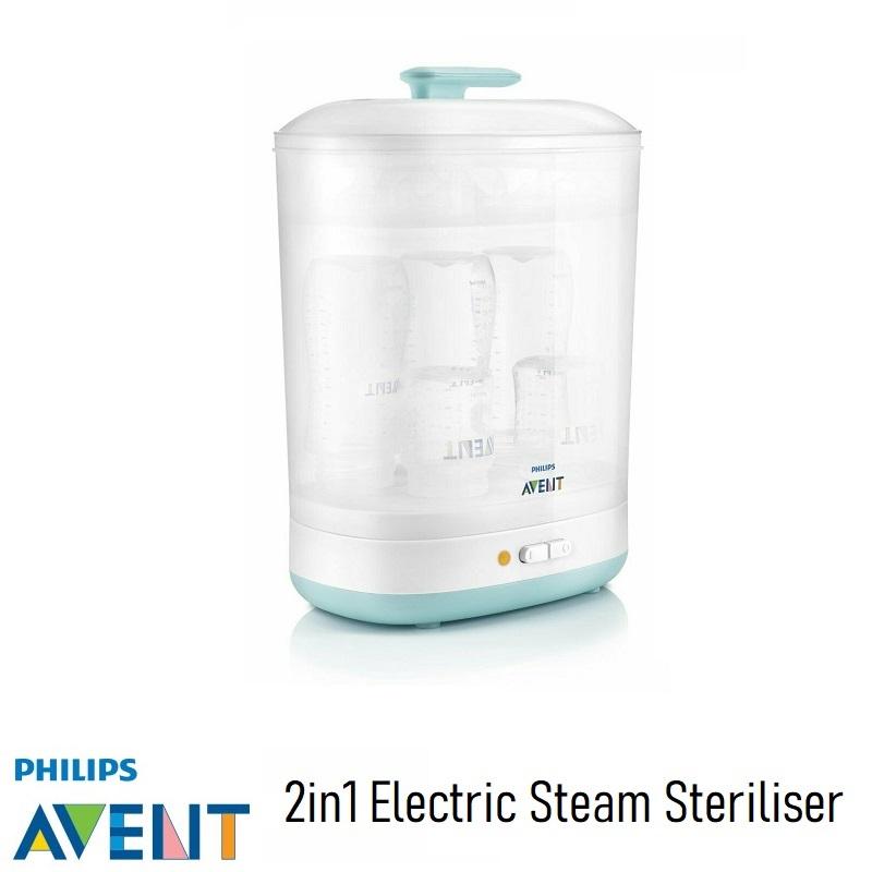 Philips AVENT 2in1 Electric Steam Steriliser