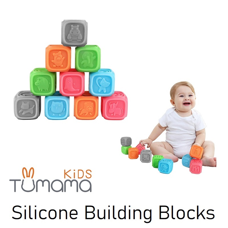 TUMAMA Silicone Building Blocks (5)