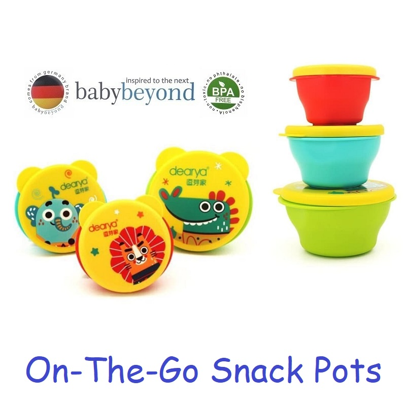 Baby Beyond On The Go Snack Pots