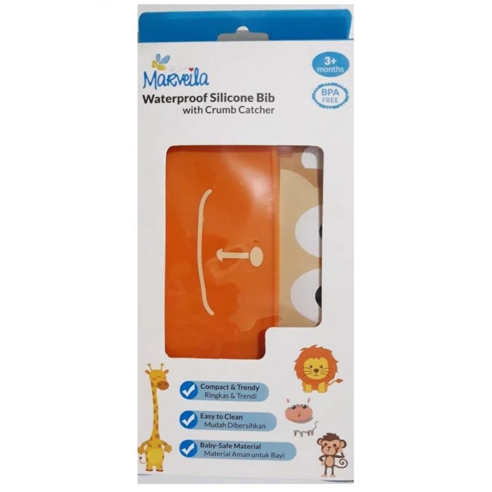 Marveila Silicone Bib (Packaging)
