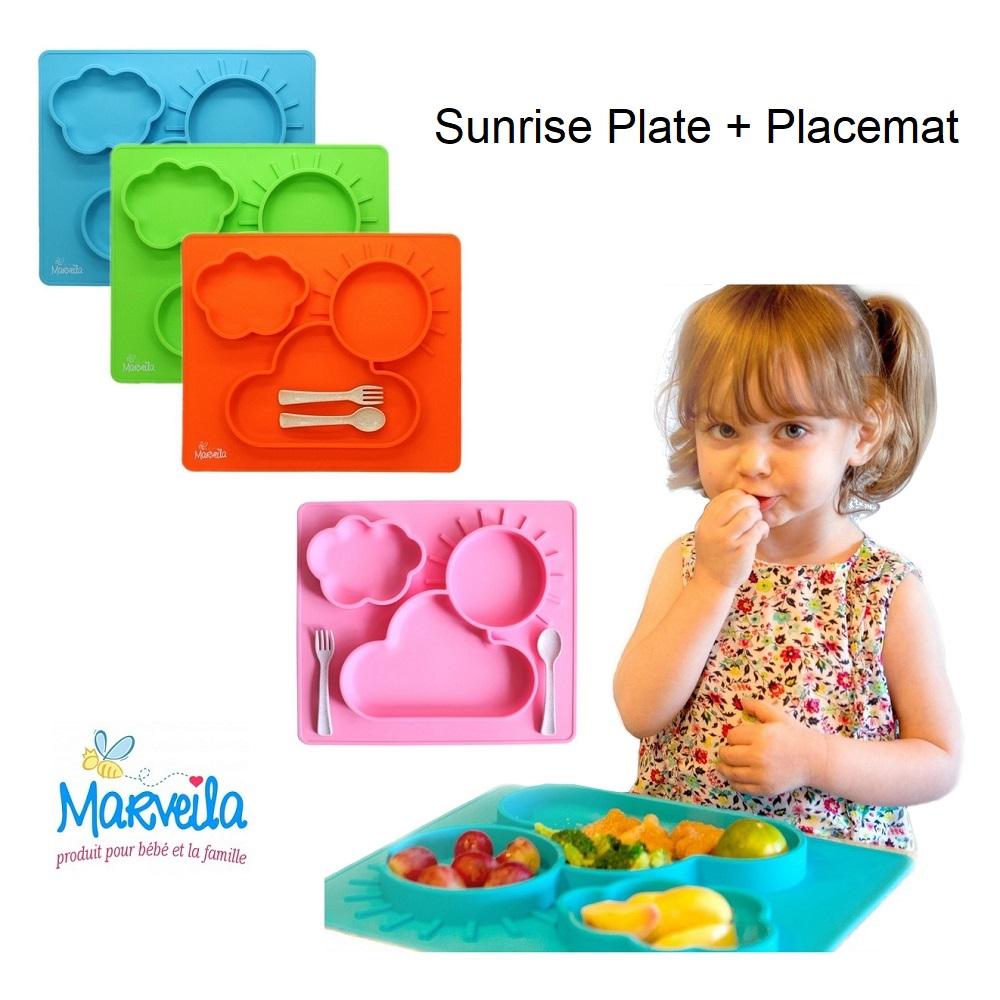 Marveila Sunrise Silicone Platemat