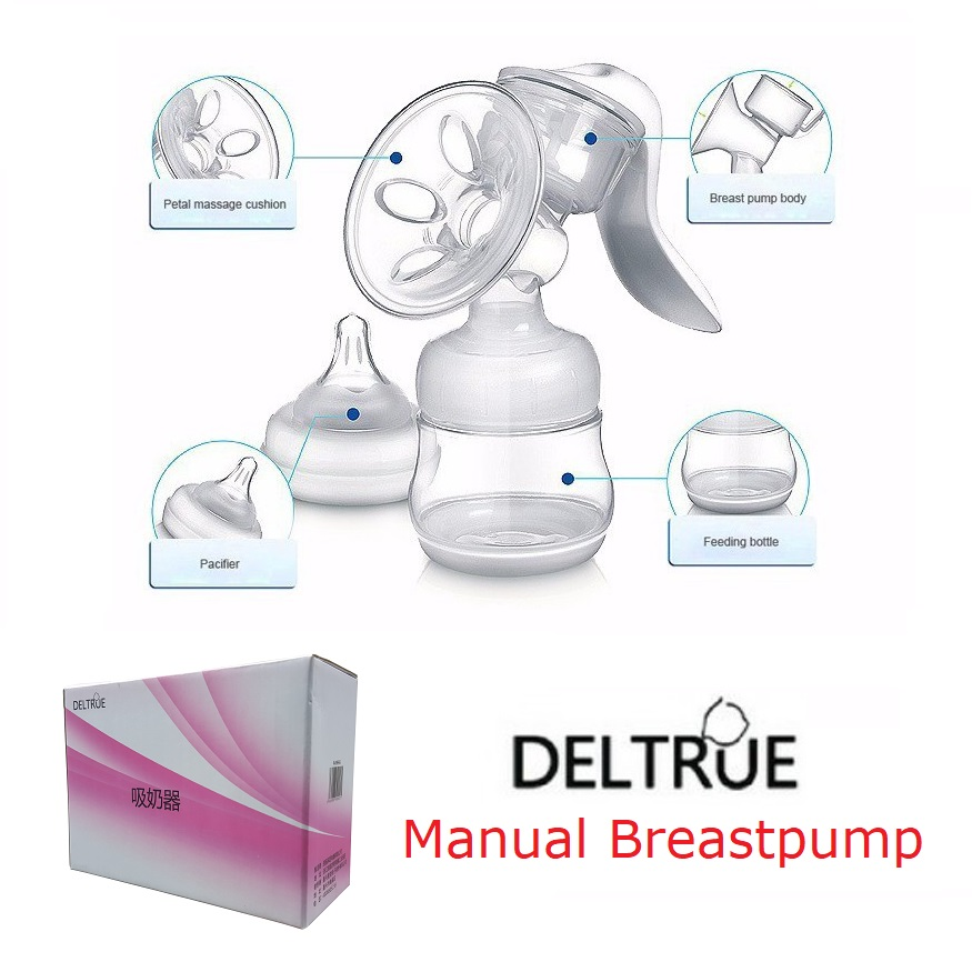 Deltrue Manual Breastpump (1)