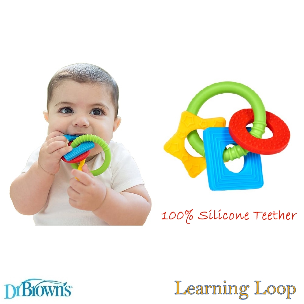 Dr Brown's Learning Loop Silicone Teether