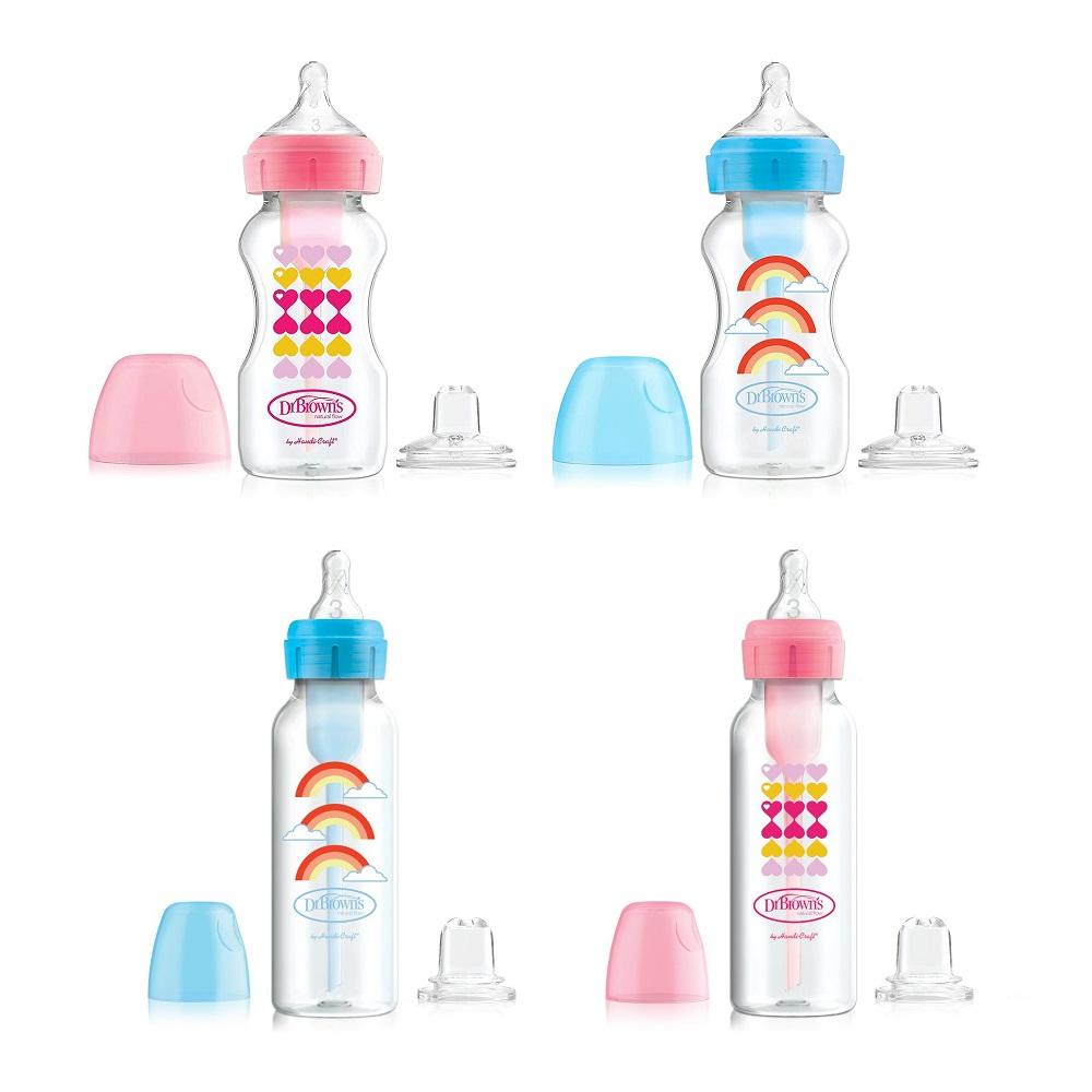 Dr Brown's Starter Kit Sippy Bottle