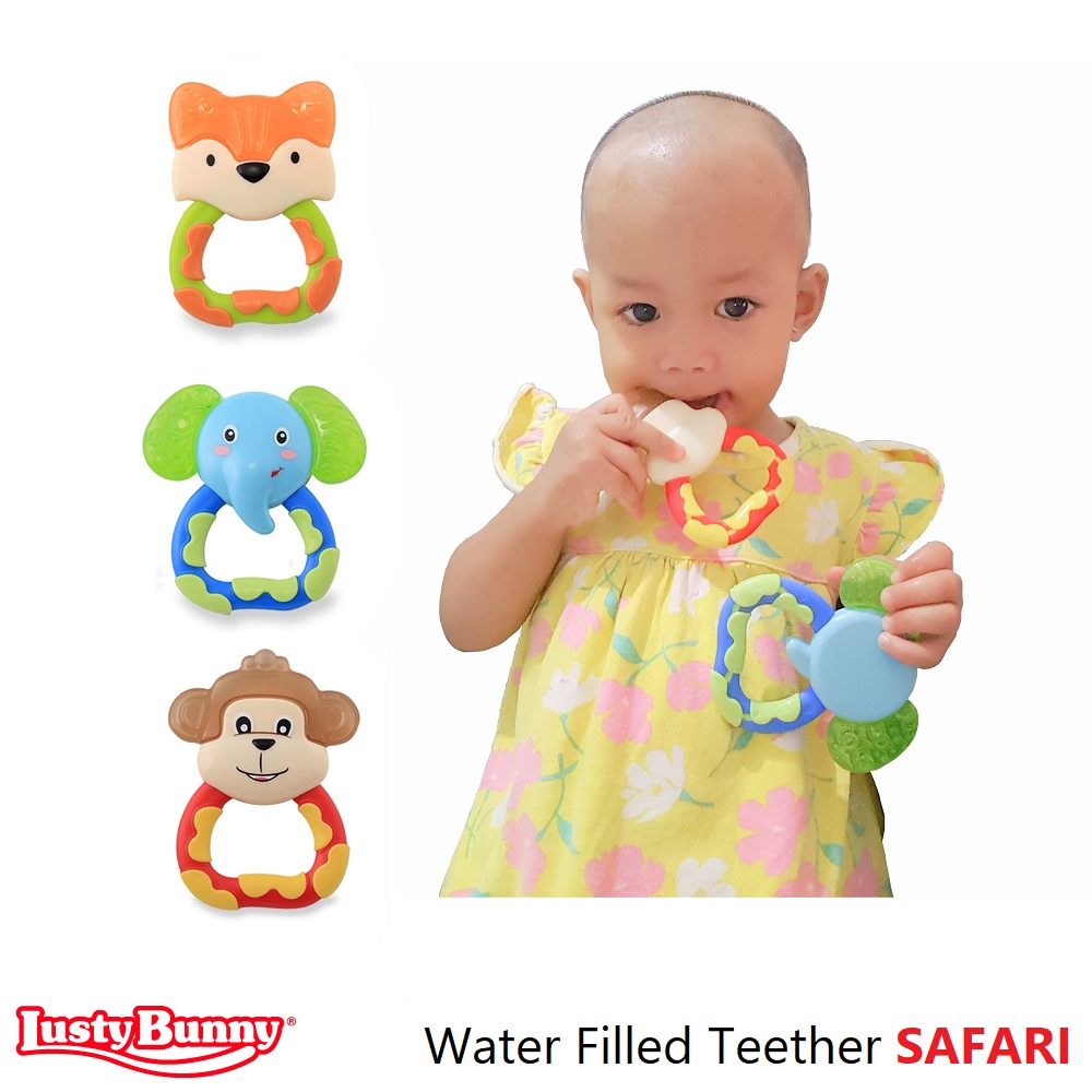 Lusty Bunny Water Filled Teether