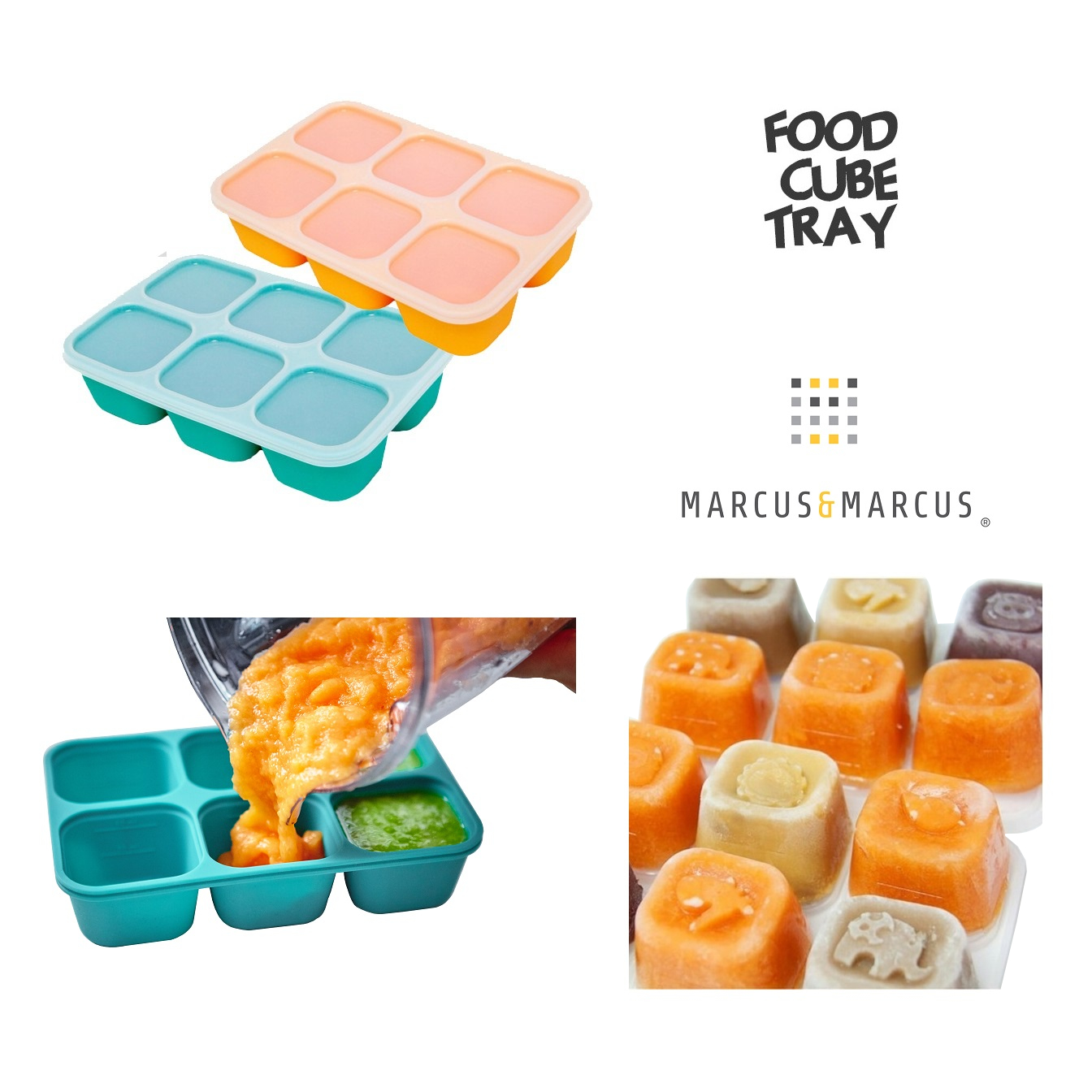 Marcus Marcus Food Cube Tray (1)