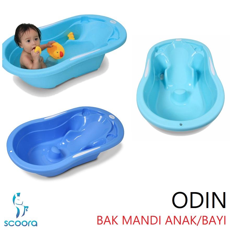 Scoora Odin Bak Mandi Anak Bayi (1)