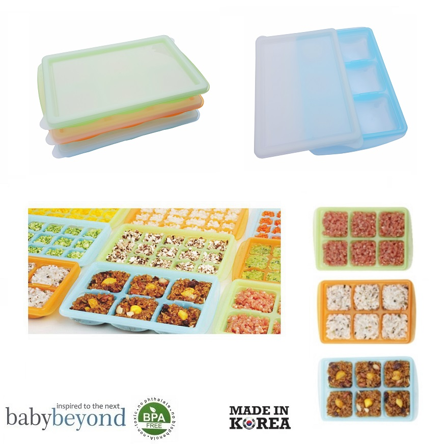 Baby Beyond PE Freezer Tray with Lid