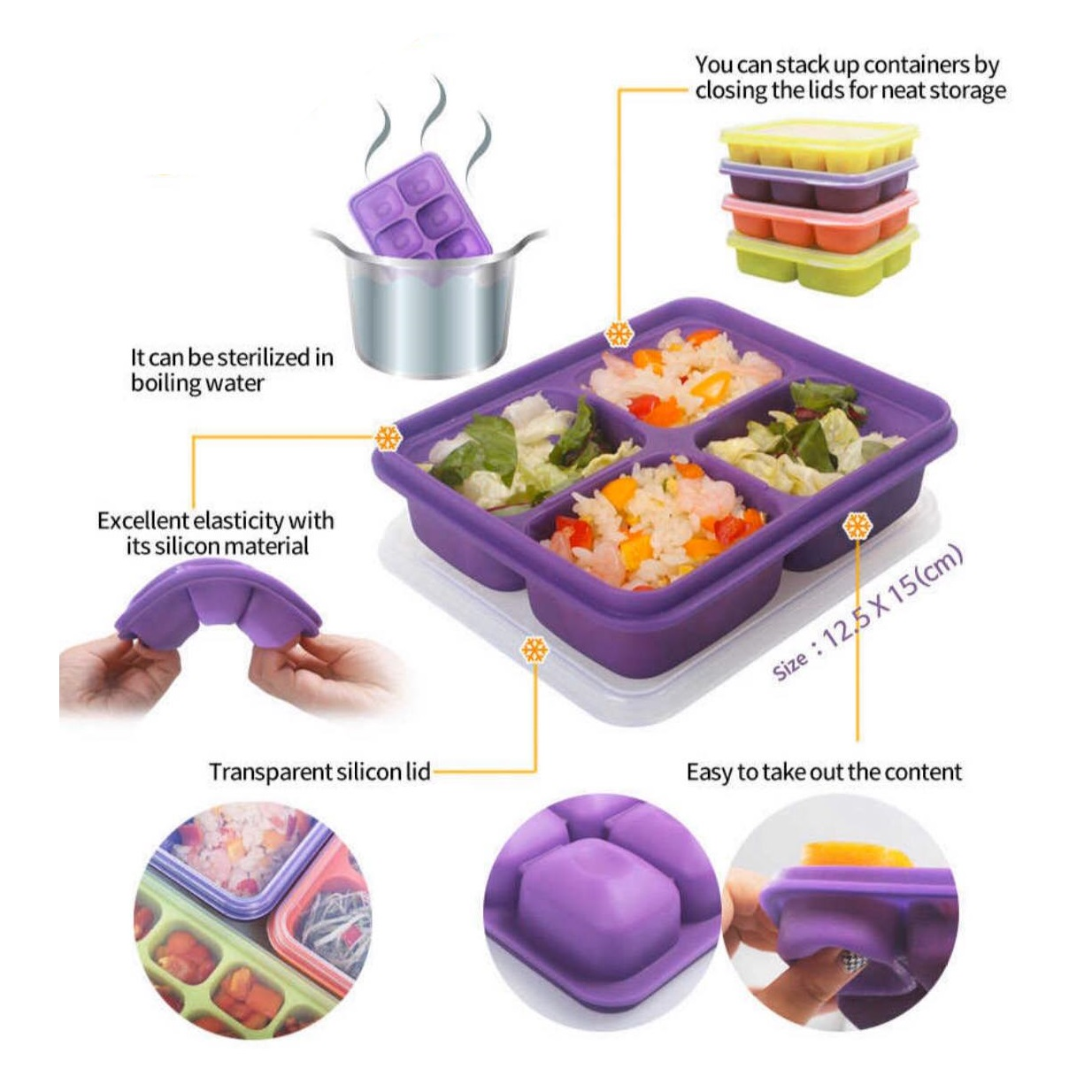 Baby Beyond Silicone Freezer Tray (1)