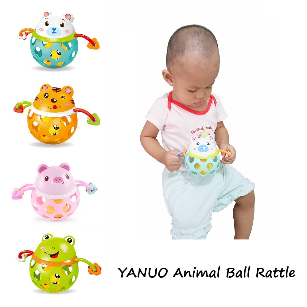 Yanuo Animal Ball Rattle
