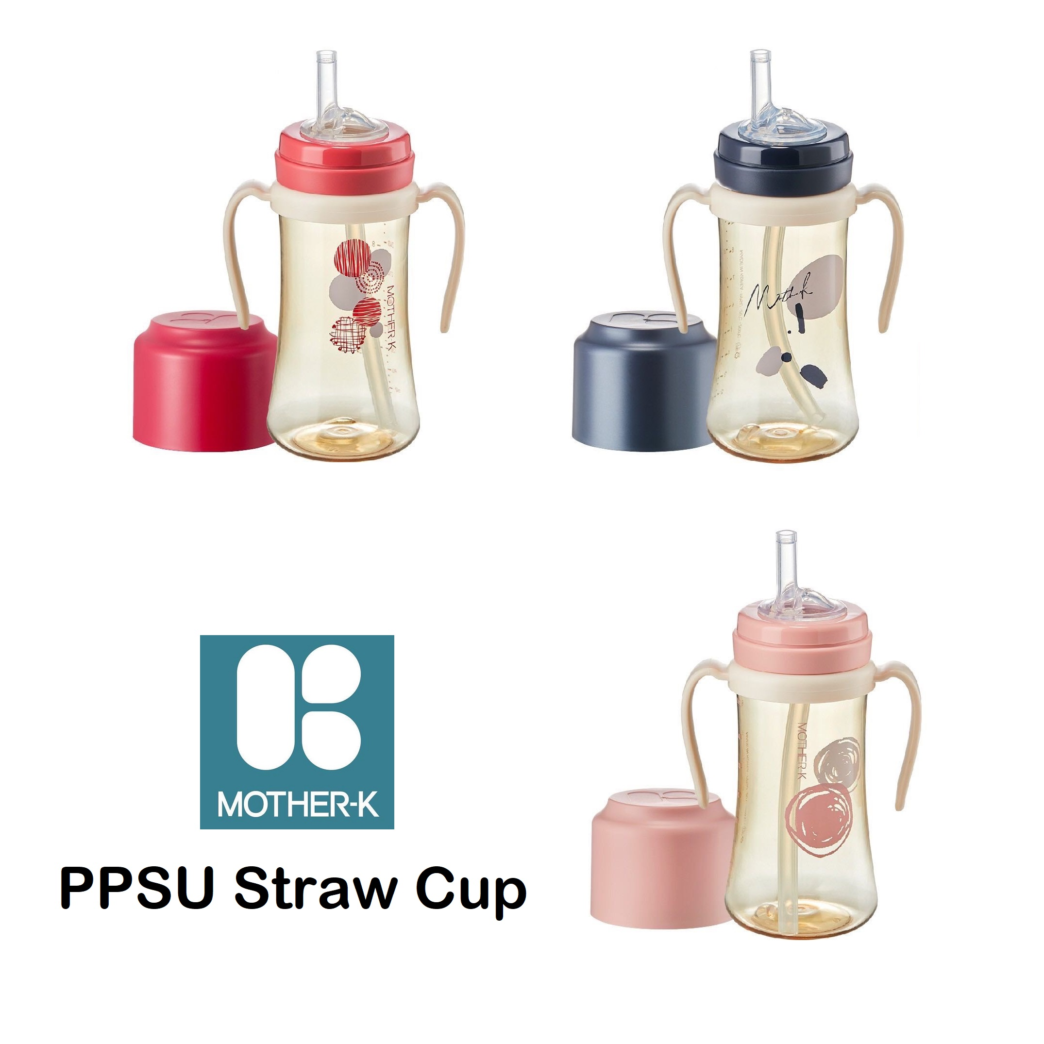 Mother-K PPSU Straw Cup
