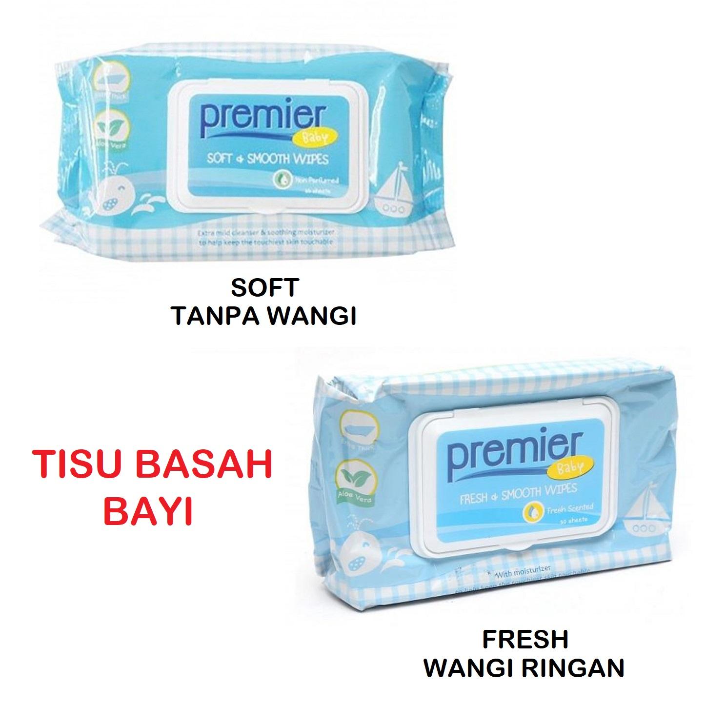 Premier Wipes Tisu Basah Bayi