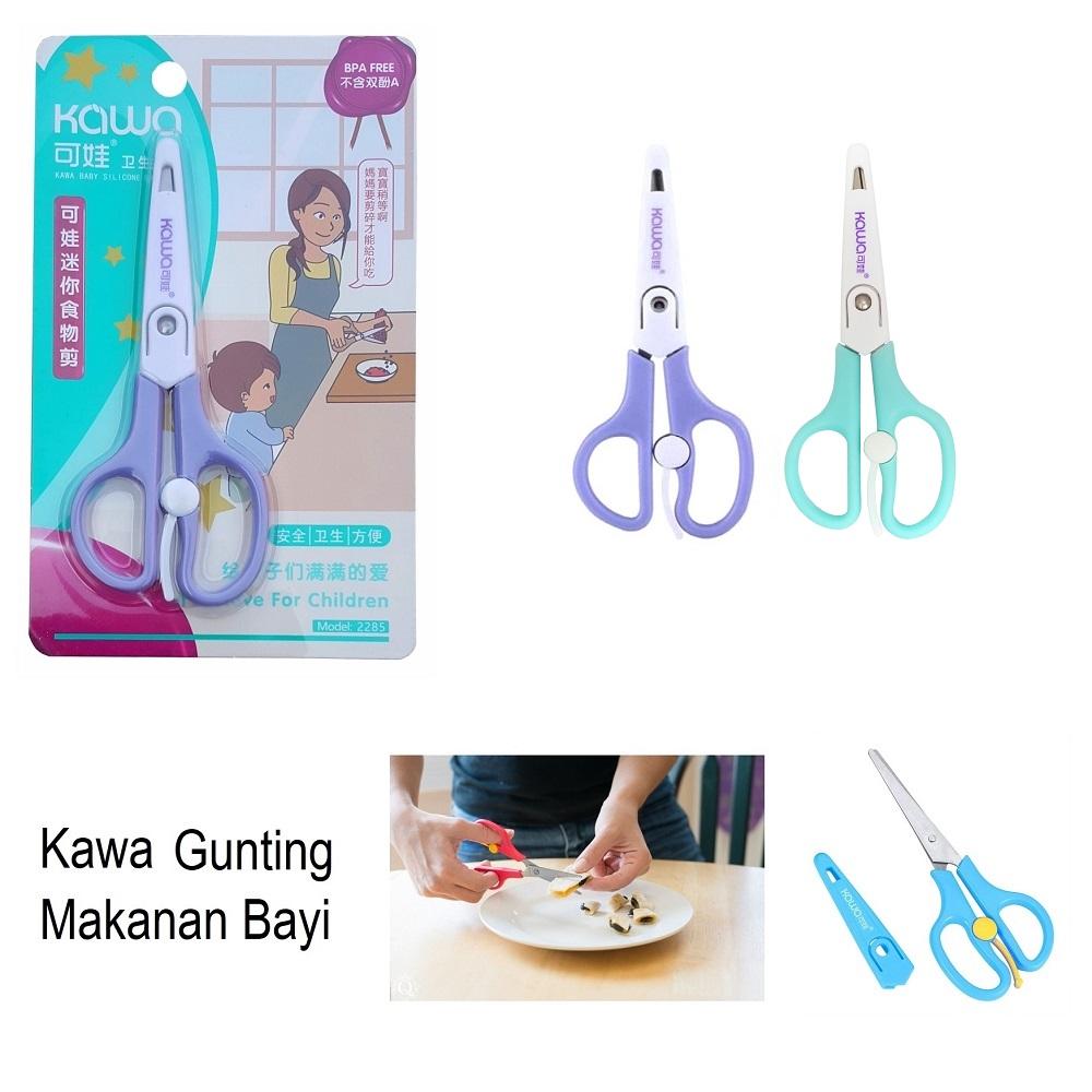 Kawa Food Scissors Gunting Makanan Bayi (1)