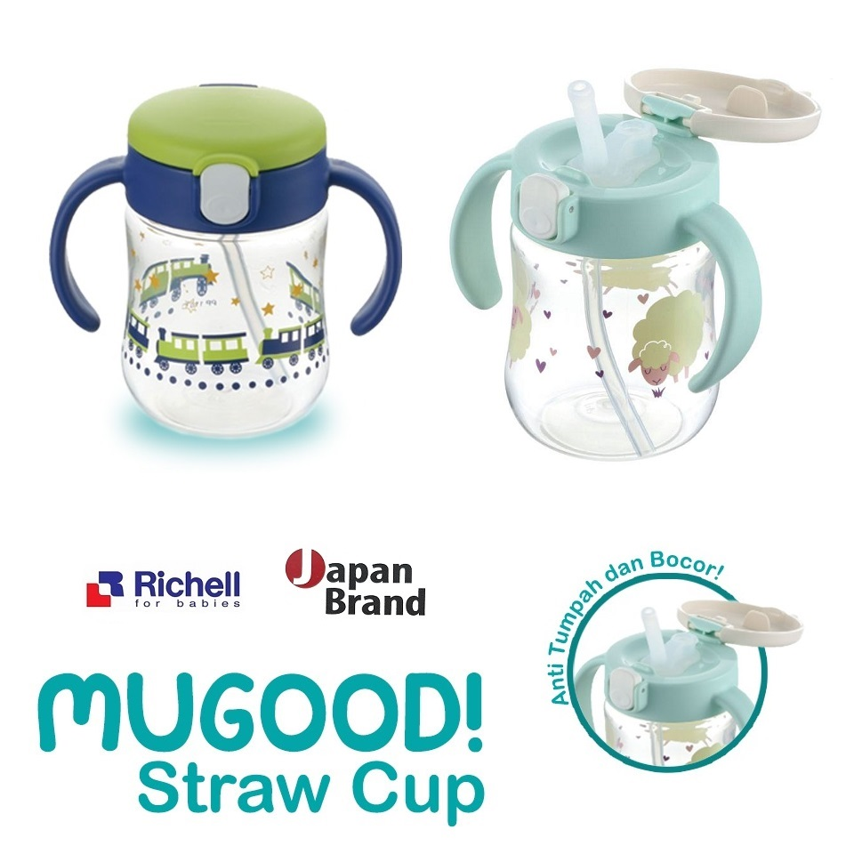 Richell Mugood Straw Cup