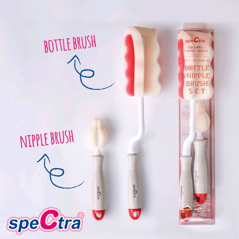Spectra Bottle and Nipple Brush Set (1)
