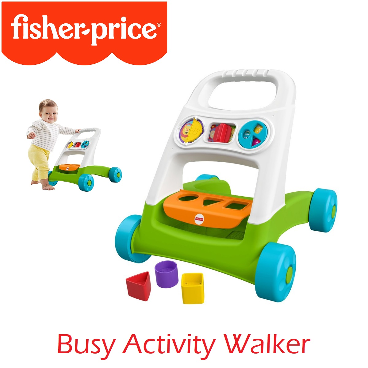 Fisher Price Busy Activity Walker (1)