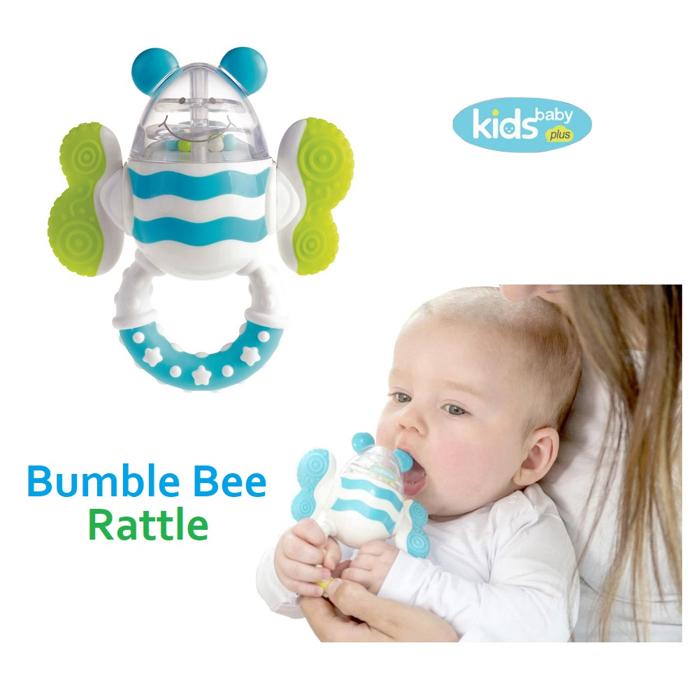 Kids Baby Plus Bumbe Bee Rattle (1)