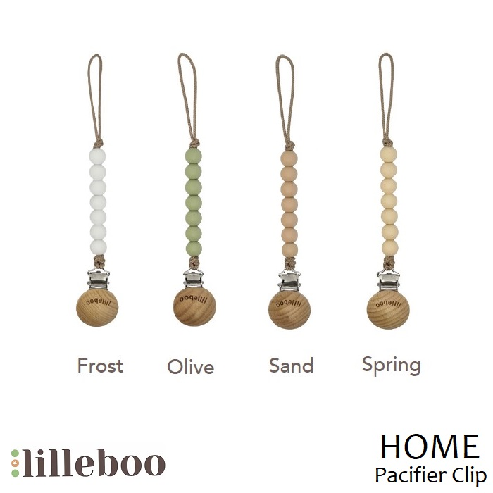Lilleboo Pacifier Clip Home